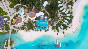 Вид с воздуха Мальдивов Стоковая Фотография RF
