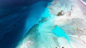 Вид с воздуха Мальдивов Стоковые Фото