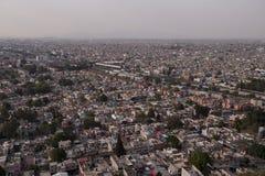 Вид с воздуха Мехико стоковое изображение