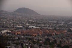 Вид с воздуха Мехико стоковое изображение rf
