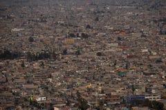 Вид с воздуха Мехико стоковые фото