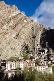 Вид с воздуха монастыря Hemis, Leh-Ladakh, Джамму и Кашмир, Индии Стоковая Фотография