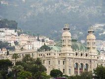 Вид с воздуха Монте-Карло казино, Монако Стоковые Изображения
