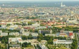 Вид с воздуха Мюнхена Стоковое Изображение