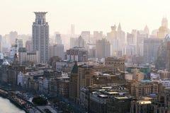 Вид с воздуха над бундом Стоковое Изображение RF