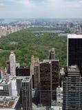 Вид с воздуха Нью-Йорка стоковые изображения rf