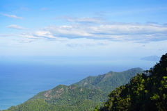 Вид с воздуха острова Langkawi Стоковое фото RF