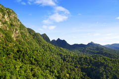 Вид с воздуха острова Langkawi Стоковое Изображение