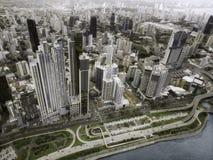 Вид с воздуха Панама (город) стоковые изображения rf