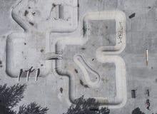 Вид с воздуха парка конька Стоковое Изображение