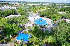 Вид с воздуха парка Стоковое Изображение