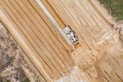 Вид с воздуха работая движенца земли Стоковые Фотографии RF
