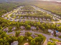 Вид с воздуха района резца печенья Стоковые Изображения RF