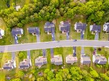 Вид с воздуха района резца печенья Стоковая Фотография RF