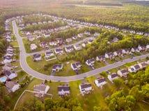 Вид с воздуха района резца печенья Стоковое Изображение