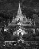 Висок Ananda - Bagan - Myanmar Стоковое фото RF