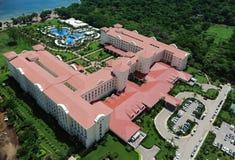Вид с воздуха роскошного курорта Стоковое Фото