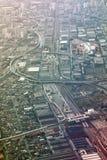 Вид с воздуха Сан-Паулу Стоковая Фотография RF