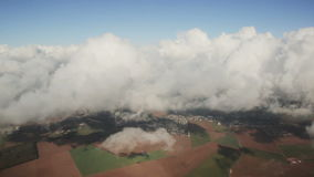 Вид с воздуха сверху акции видеоматериалы