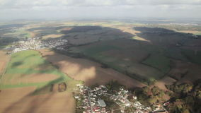 Вид с воздуха сверху сток-видео