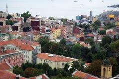 Вид с воздуха Стамбула Стоковые Изображения RF