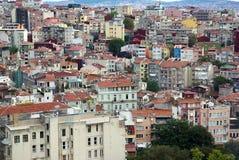 Вид с воздуха Стамбула Стоковые Изображения