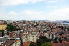 Вид с воздуха Стамбула Стоковое Фото