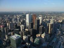 Вид с воздуха Торонто Стоковое Изображение