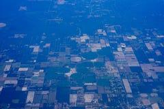 Вид с воздуха фермы Флориды стоковое изображение rf