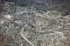 Черный город каньона Стоковые Изображения RF
