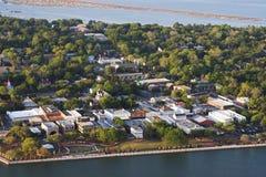 Вид с воздуха beaufort Стоковая Фотография