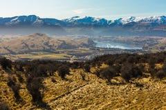 Вид с воздуха Frankton Стоковые Изображения