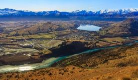 Вид с воздуха Frankton Стоковые Изображения RF