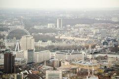 Вид с воздуха Lambeth, Лондона Стоковое фото RF