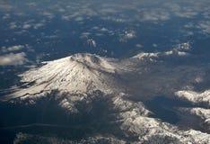 Вид с воздуха Mount Saint Helens, Вашингтона США стоковые изображения