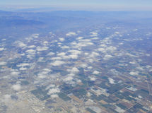 Вид с воздуха Oxnard Тихий Океан стоковые фото