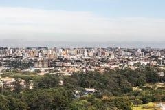 Вид с воздуха sorocaba Стоковые Фото
