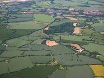 Вид с воздуха Takeley Стоковая Фотография