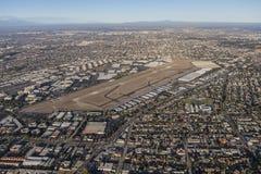 Вид с воздуха Torrance Калифорнии Стоковое фото RF