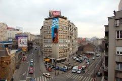 Виды на город Белграда Стоковое Изображение RF