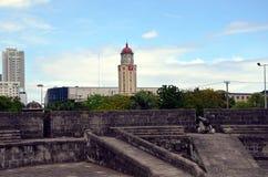Виды на город Манилы Стоковые Изображения RF