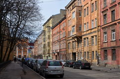 Виды на город Санкт-Петербурга Стоковое Изображение RF