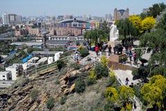 Виды на город Urumqi Стоковое фото RF