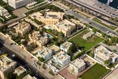 Виллы на Umm Hurair 1 район стоковые изображения