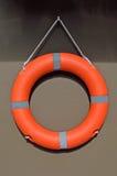 Вид Lifebuoy на стене Стоковое фото RF