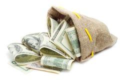 вкладыш доллара кредитки Стоковое Изображение
