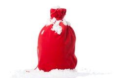 вкладыш изолированный рождеством красный Стоковые Изображения