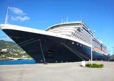 Вкладыш круиза в порте Стоковое Фото