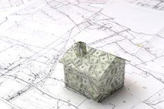 Вклад недвижимости Стоковые Фотографии RF