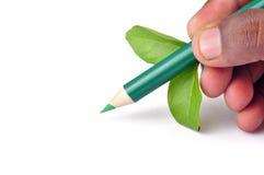 включенный карандаш путя Стоковое Фото